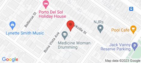Location map for 3/34 Bonavista Avenue Maroubra