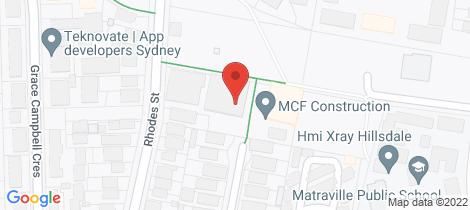 Location map for B604/15 Flack Avenue Hillsdale