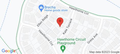 Location map for 5 Kate Terrace Harrington Park