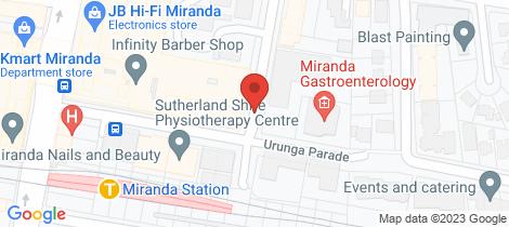 Location map for 66/7-15 Jackson Avenue Miranda