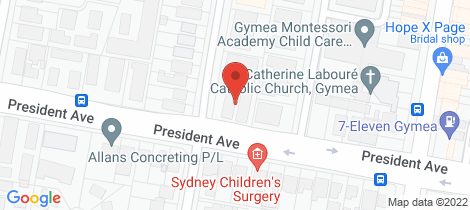 Location map for 4/76 Talara Road Gymea