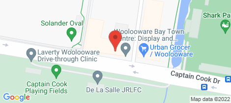 Location map for 501/475 Captain Cook Drive Woolooware