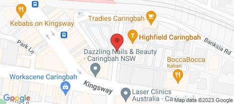 Location map for 29/10-20 Mackay Street Caringbah