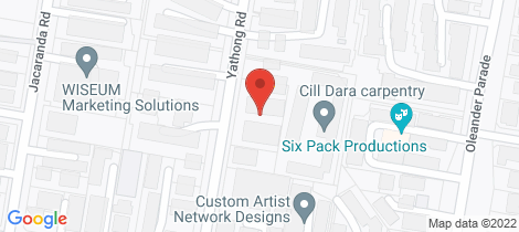 Location map for 12/88-92 Yathong Road Caringbah