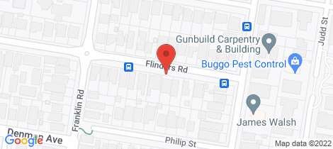 Location map for 8/6 Flinders Road Woolooware