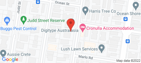 Location map for 2/35-37 Wyanbah Road Cronulla