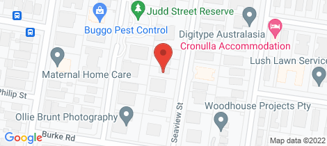 Location map for 1/37 Seaview Street Cronulla