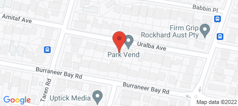 Location map for 14A Uralba Avenue Caringbah South