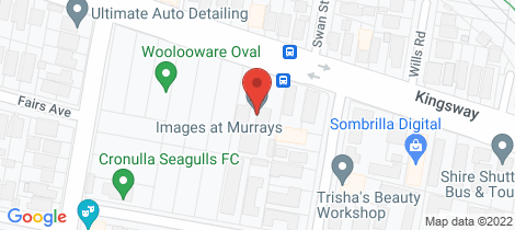 Location map for 4/110 Kingsway Woolooware