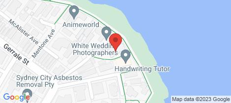Location map for 10/8 Boorima Place Cronulla