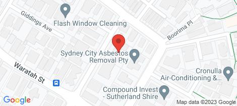 Location map for 4/2-6 Parramatta Street Cronulla