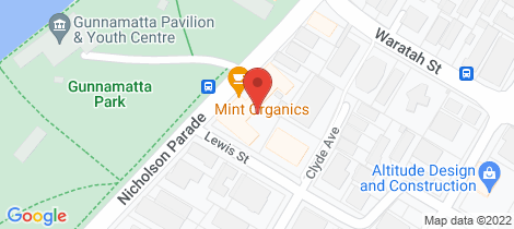 Location map for 25/16-24 Nicholson Parade Cronulla