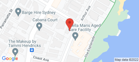 Location map for 6/2 Ingalara Avenue Cronulla
