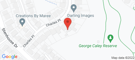 Location map for 18 Charles Place Mount Annan