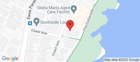 Location map for 18/12-14 Coast Avenue Cronulla