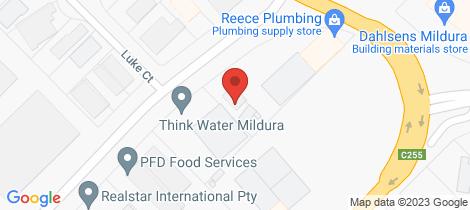 Location map for 65 The Crescent Mildura