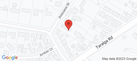 Location map for Lot 94, 3 Princess Street Goulburn