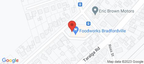 Location map for 53 Queen Street Goulburn