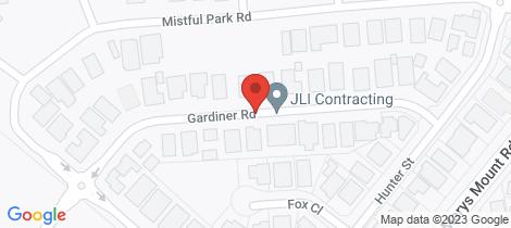 Location map for 20B Gardiner Road Goulburn