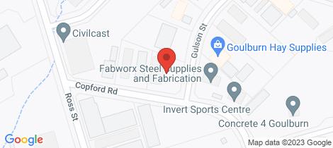 Location map for 2 Gulson Street Goulburn