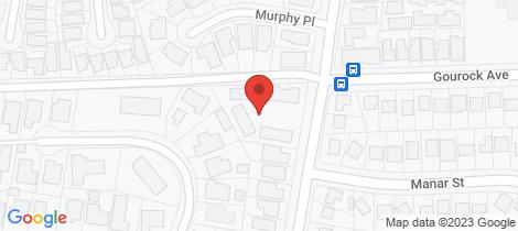 Location map for 7/114 Gibson Street Goulburn