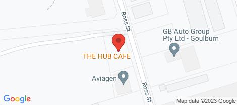 Location map for 39a Ross Street Goulburn