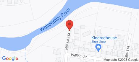 Location map for 72 Hoskins Street Goulburn