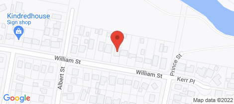 Location map for 17 William Street Goulburn