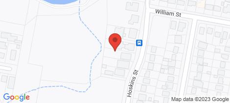 Location map for 1/66 Hoskins Street Goulburn