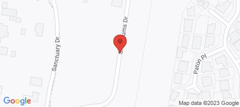 Location map for 7 Snowgums Drive (Lot 307) Goulburn