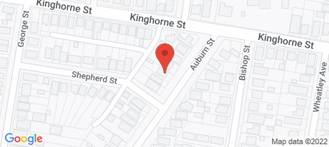 Location map for 524 Auburn Street Goulburn