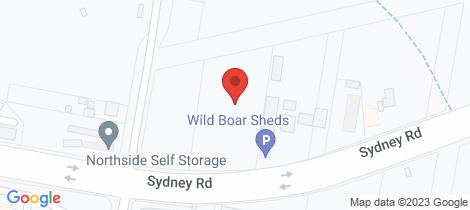 Location map for 60 Sydney Road Goulburn NSW Goulburn