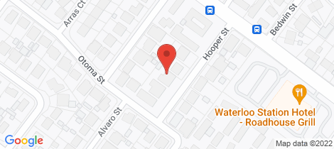 Location map for 11 Hooper Street Paralowie