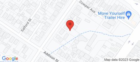 Location map for 73 Faithfull Street Goulburn