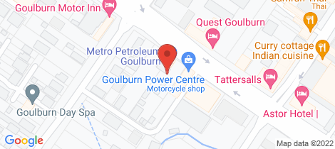 Location map for 62 Clinton Street Goulburn Goulburn
