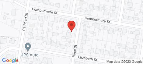 Location map for 34 Rose Street Goulburn