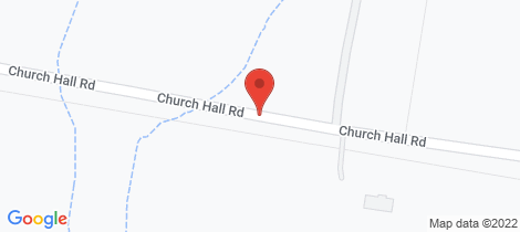 Location map for 10 Church Hall Road Parkesbourne