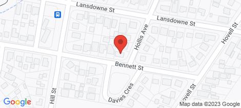 Location map for 40 Hollis Avenue Goulburn
