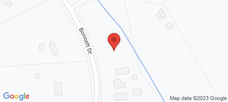 Location map for Lot 2, 24 Bonnett Drive Goulburn