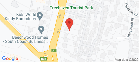 Location map for 286 Princes Highway Bomaderry