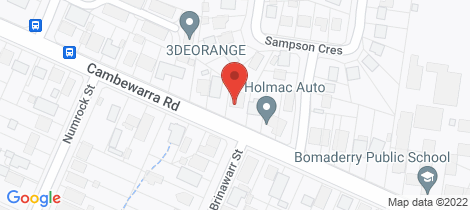 Location map for 61 Cambewarra Road Bomaderry