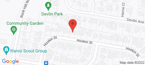 Location map for 19 Hoskin Street North Nowra