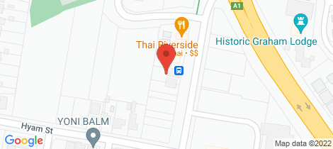 Location map for 33 Bridge Road Nowra