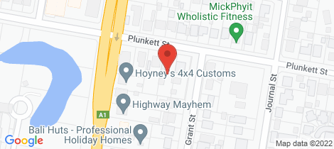 Location map for 128 Plunkett Street Nowra