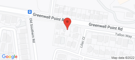 Location map for 102 Greenwell Point Road Worrigee
