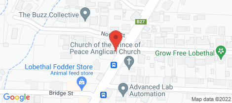 Location map for 105 Main Street Lobethal
