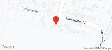 Location map for 7 Harrogate Road Harrogate