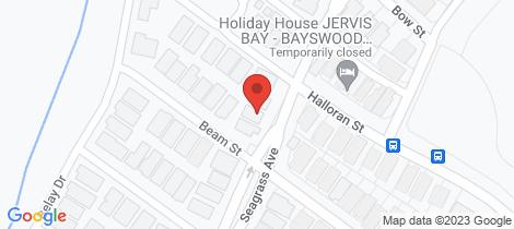 Location map for 29 Seagrass Avenue Vincentia