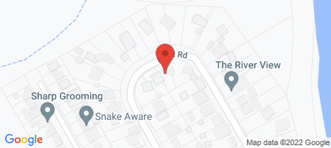 Location map for 19 River Road Sussex Inlet