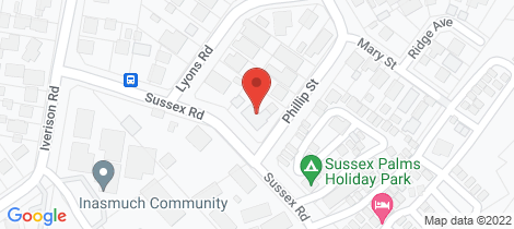 Location map for 15 Sussex Rd Sussex Inlet